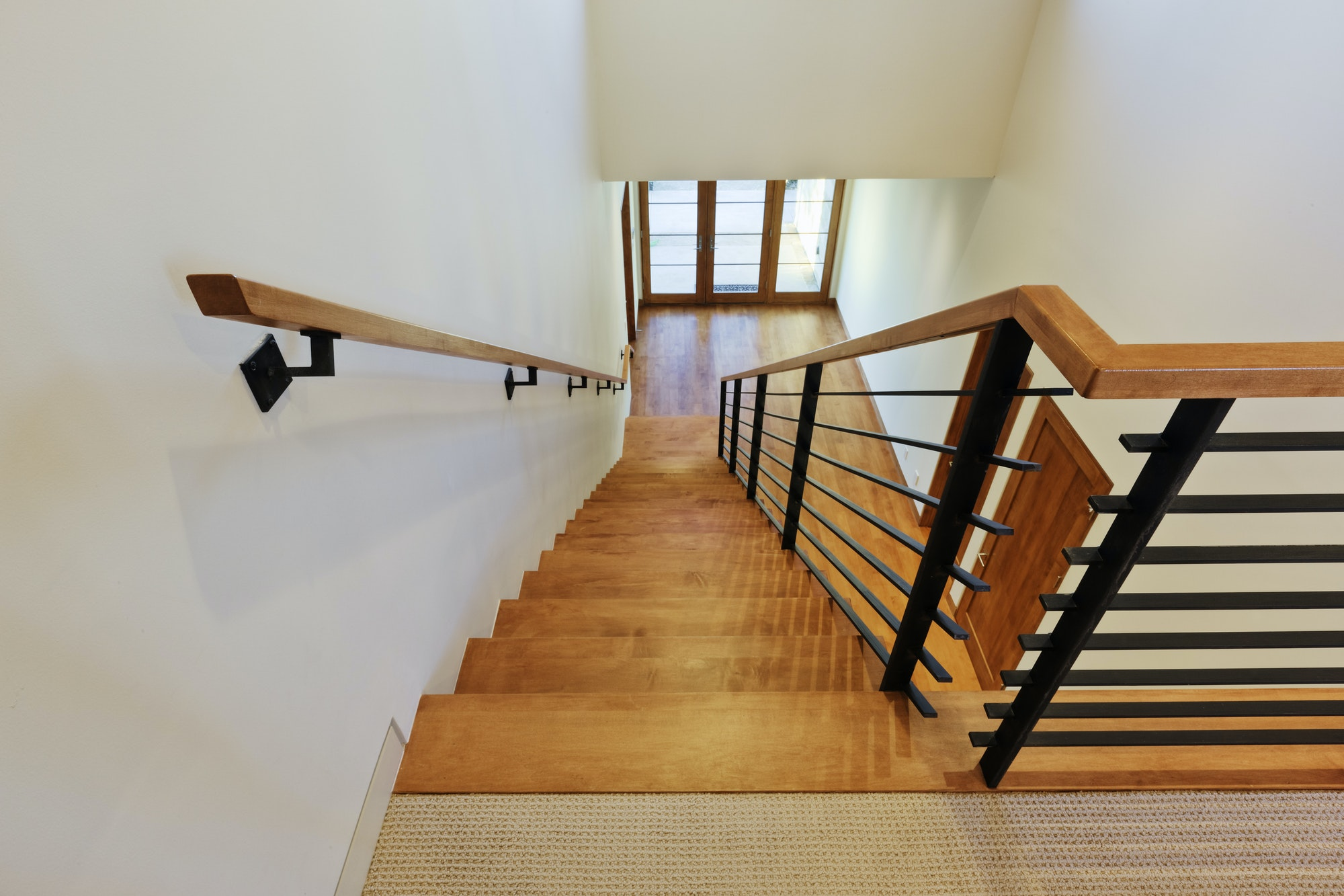 Stairs in a Modern Home
